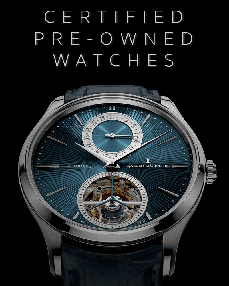 certified preowned jaeger lecoultre watch dealer