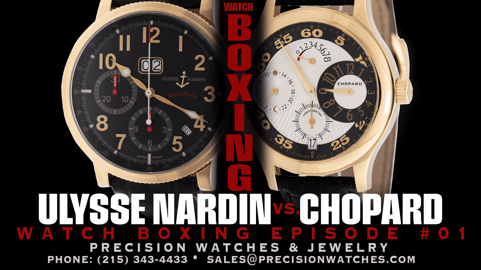 watchboxing episode 1 - ulysse nardin vs chopard