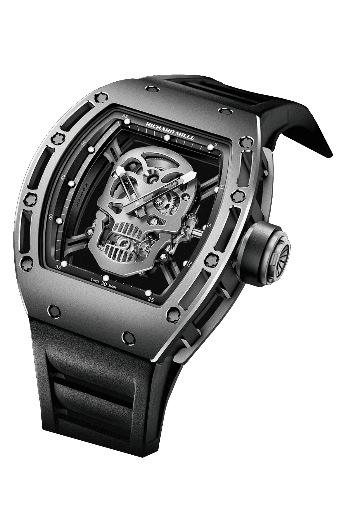 richard mille rm052 asia edition skull watch